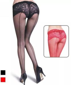 Fishnet with Built-in Panty